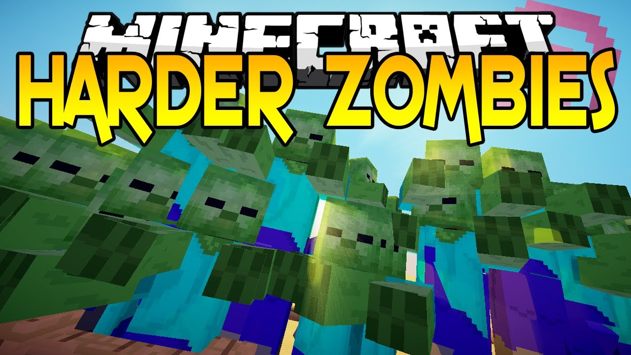 CrackedZombie Mod 9.99.9/9.99.9 (Harder Zombies) - 9Minecraft.Net