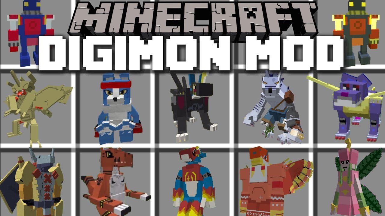 Digimobs Mod