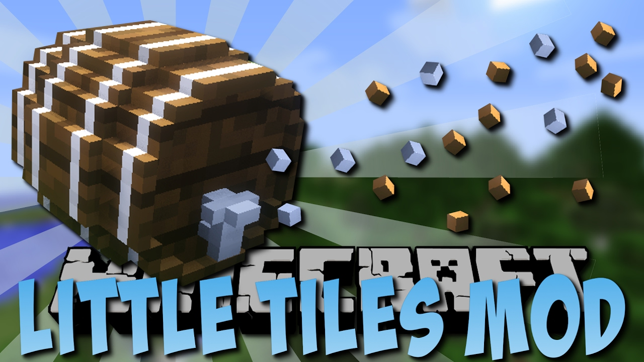 LittleTiles Mod 1 12 2/1 11 2 (Custom Mini Blocks) - 9Minecraft Net