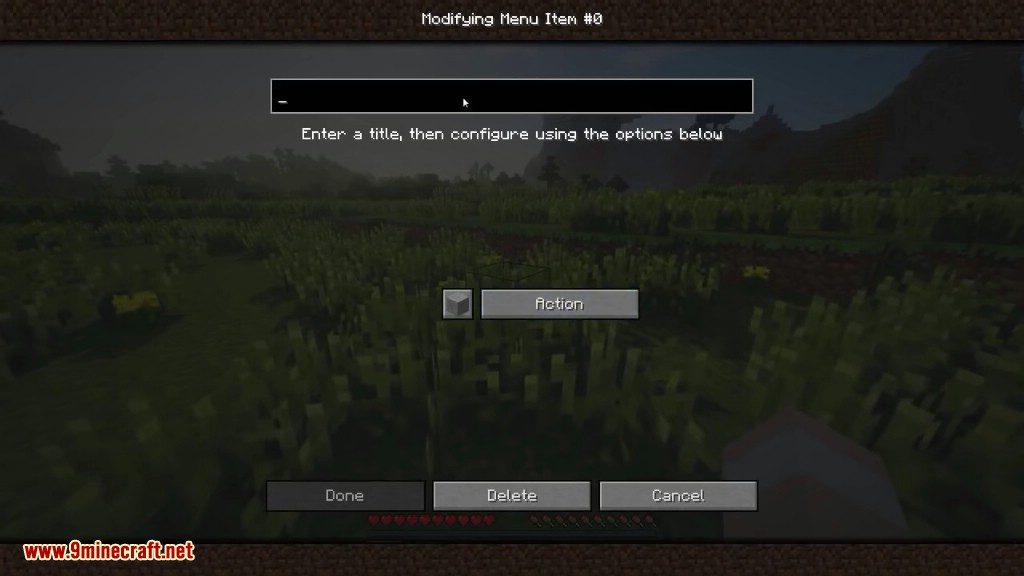 MineMenu Mod Screenshots 4