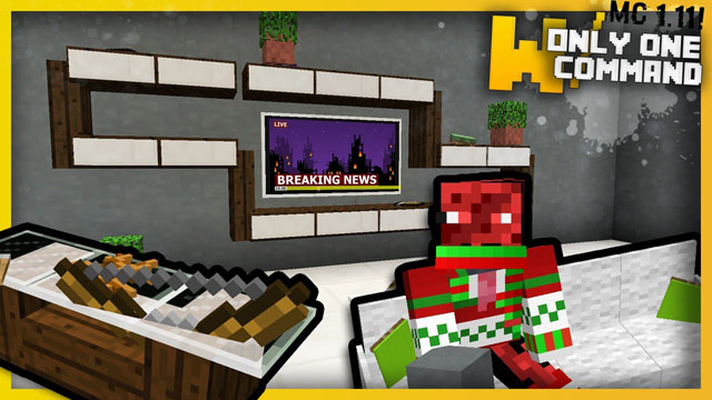 modern living room furniture command block 1.11.2/1.11 - 9minecraft