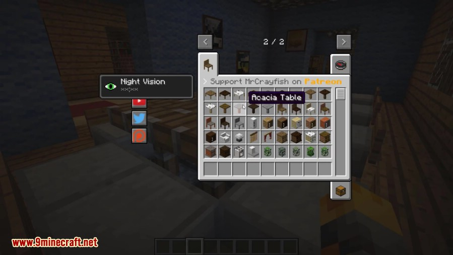 Furniture mod installer for minecraft 1 7 2 best for Furniture mod 1 12 2