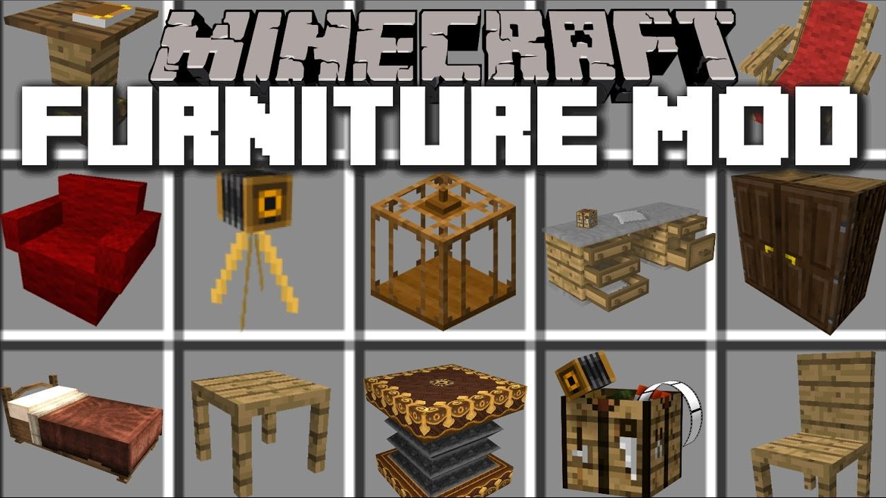 mrcrayfish's furniture mod  (best furniture mod  - mrcrayfish's furniture mod  (best furniture mod) minecraftnet