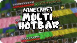 Multi-Hotbar Mod