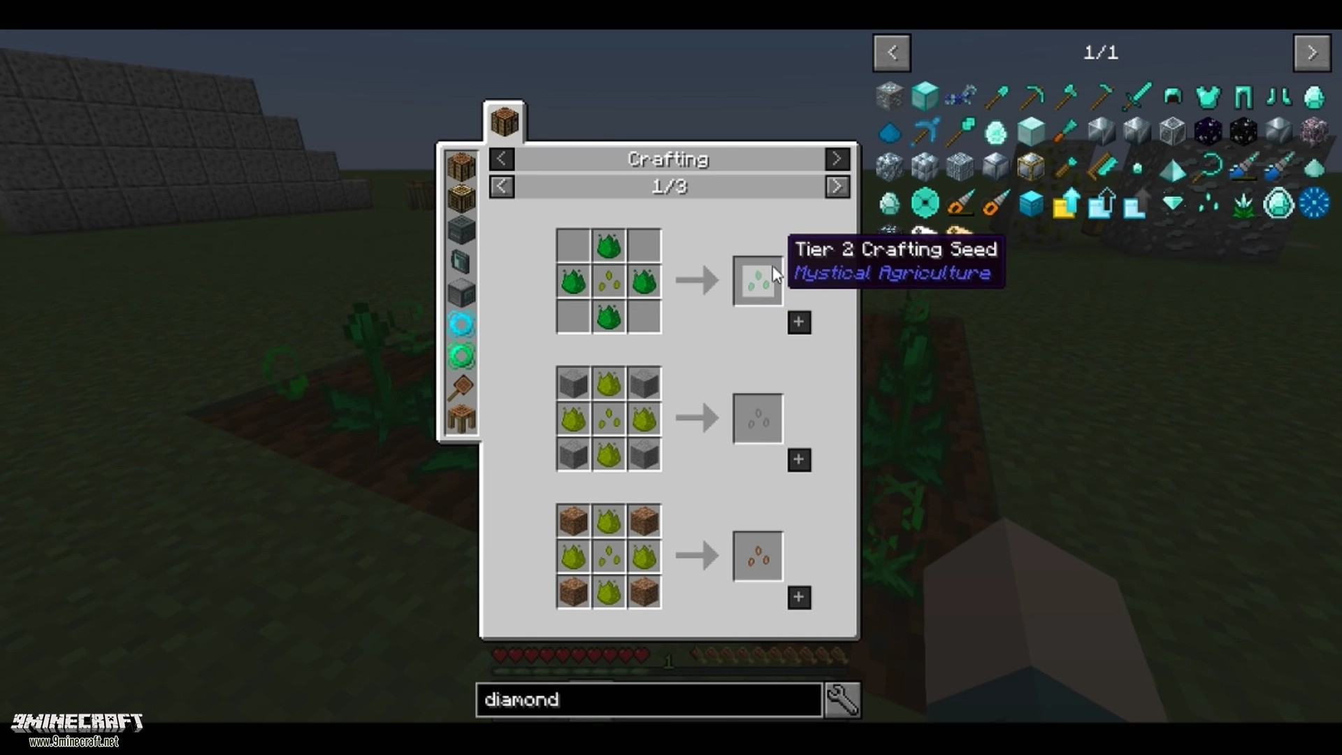 Mystical Agriculture Mod Crafting Recipes 2