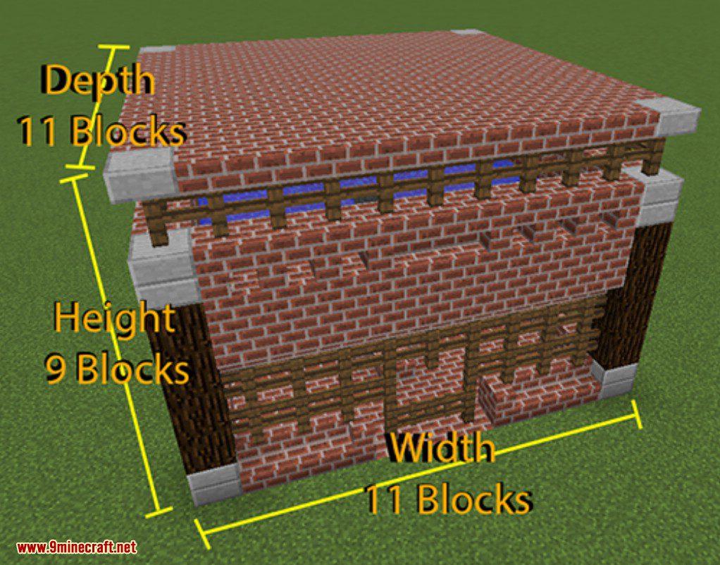 Prefab Mod Prefabricated Building MinecraftNet - Minecraft hausbau mod 1 7 10