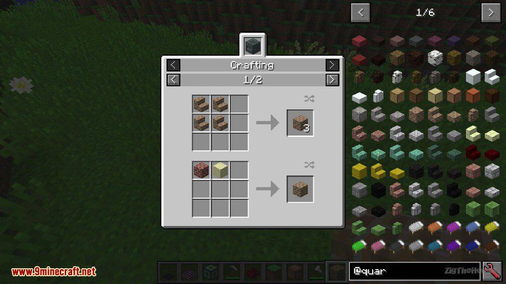Quark Mod Crafting Recipes 1