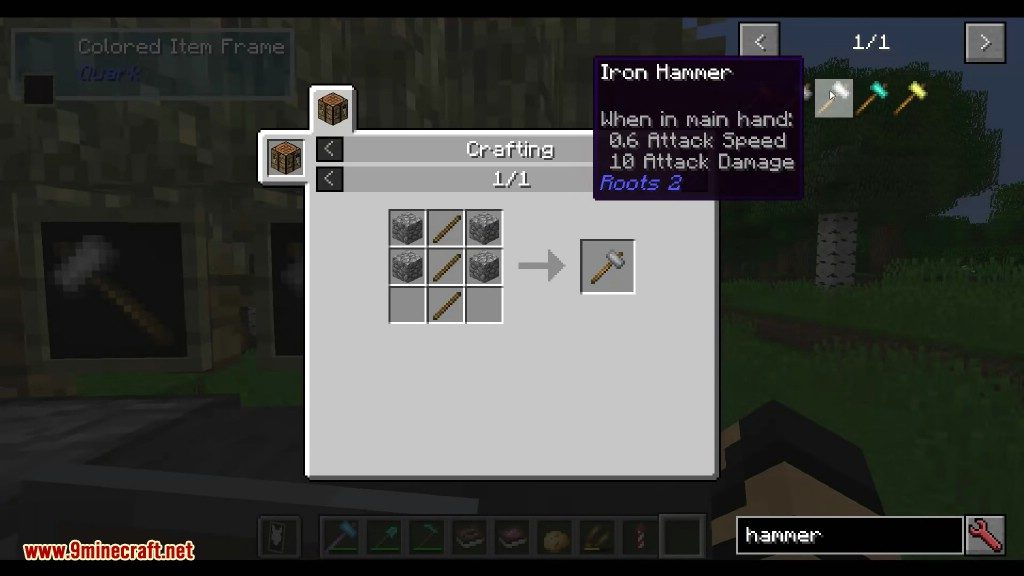 Roots Mod Crafting Recipes 3