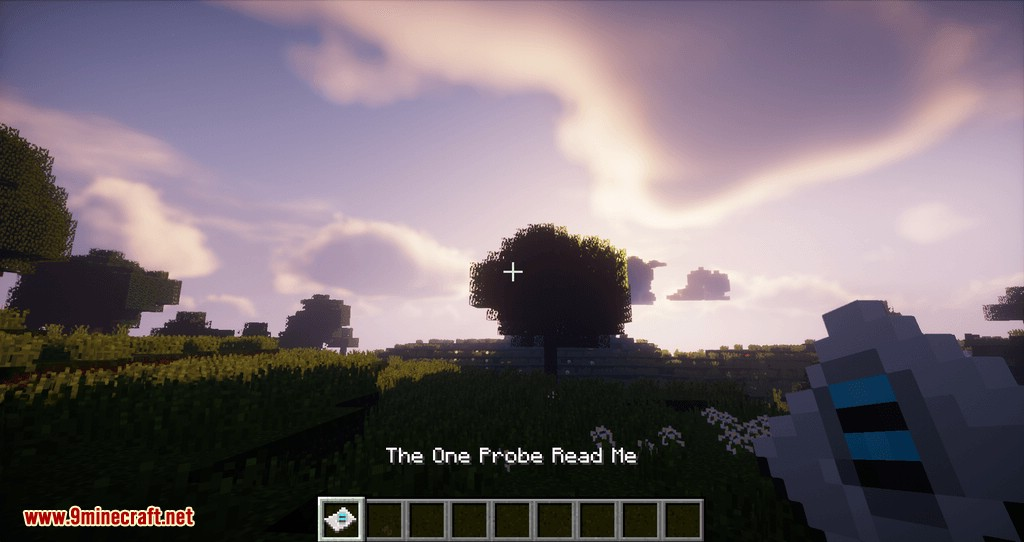 The One Probe mod for minecraft 01