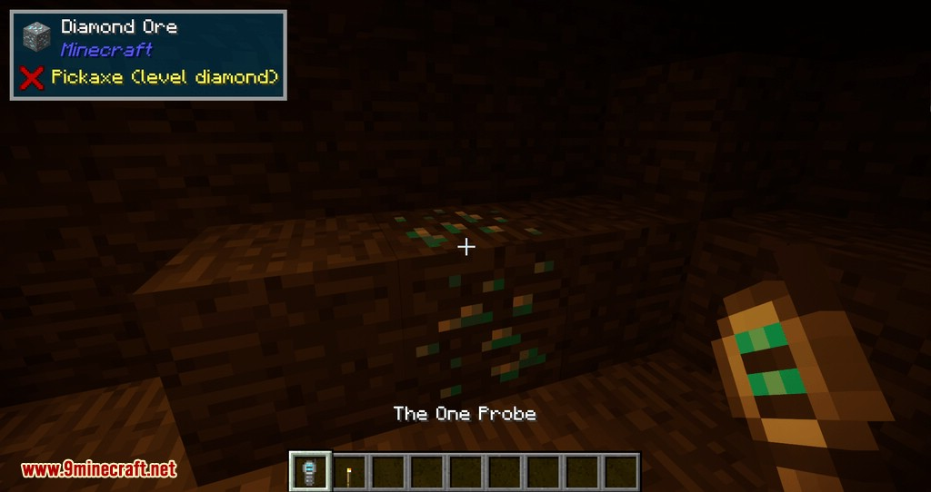 The One Probe mod for minecraft 04