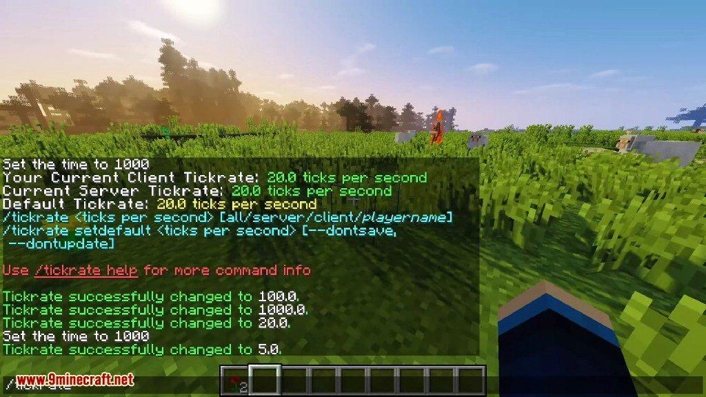 TickrateChanger Mod Screenshots 3