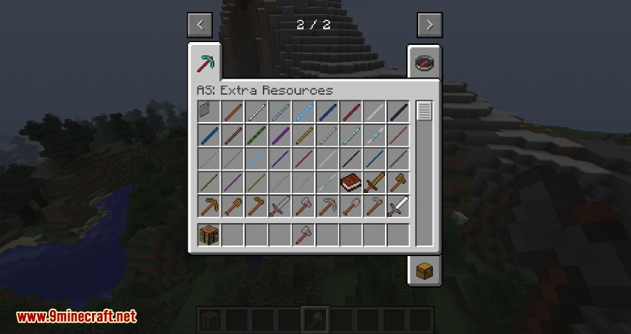 Advanced Sticks Extra Resources Mod 1