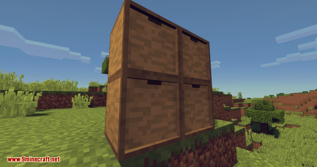 Drawers & Bits Mod for minecraft 02