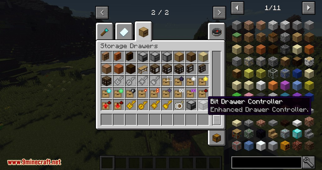 Drawers & Bits Mod for minecraft 09