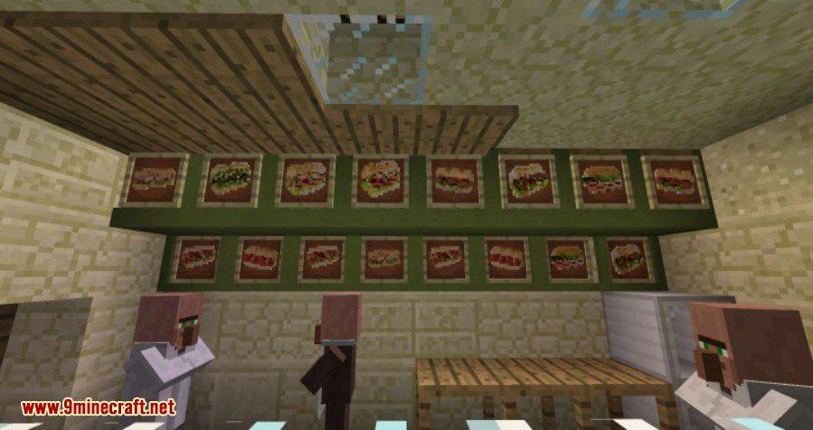 Calopteryx's Fast Food Mod 2