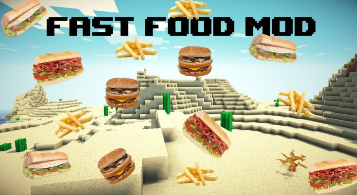 Calopteryx's Fast Food Mod