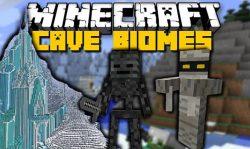 CaveBiomes Mod Logo