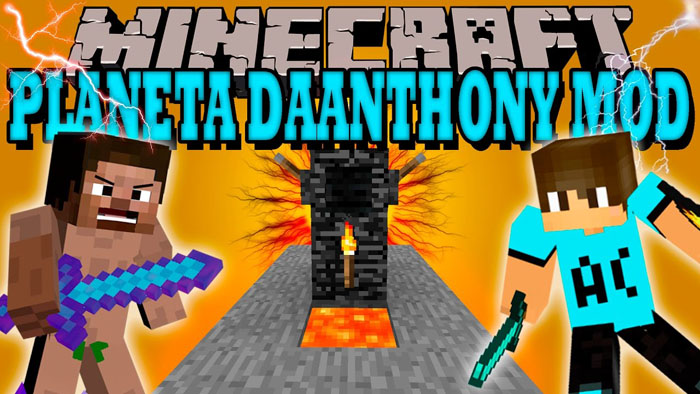 Daanthony Mod 1.7.10 Download
