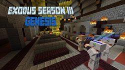 Exodus Season 3 Genesis Map for Minecraft Logo