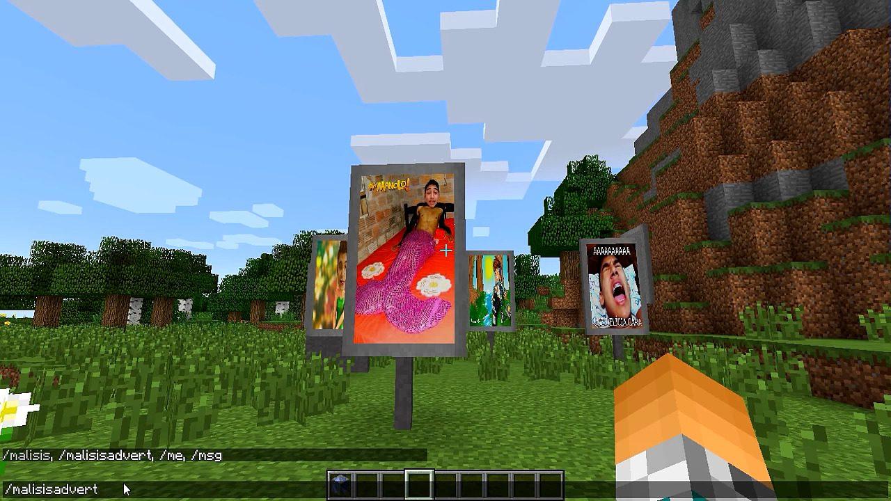 MalisisAdvert Mod Screenshots 13