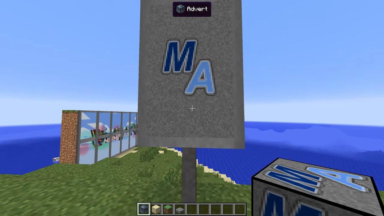 MalisisAdvert Mod Screenshots 5