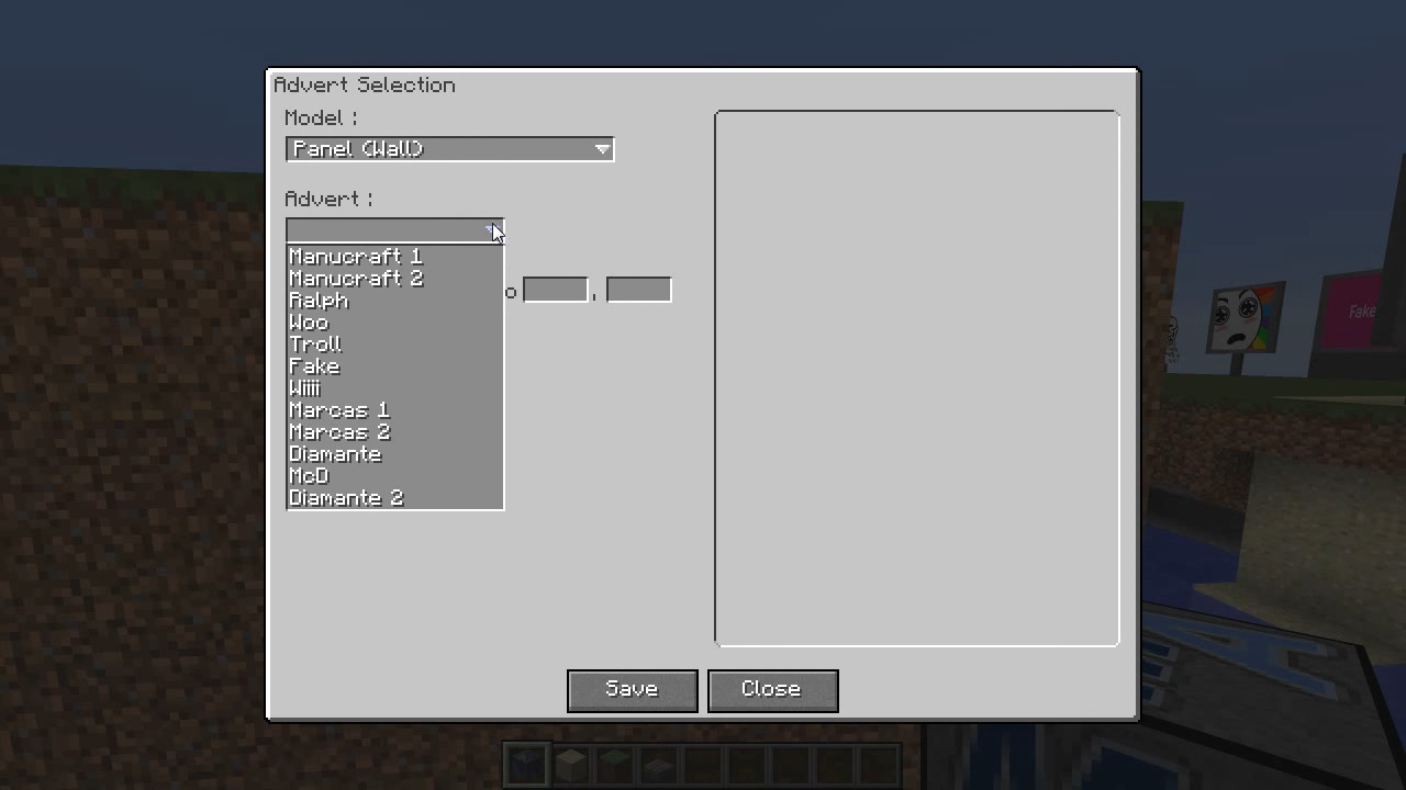 MalisisAdvert Mod Screenshots 6