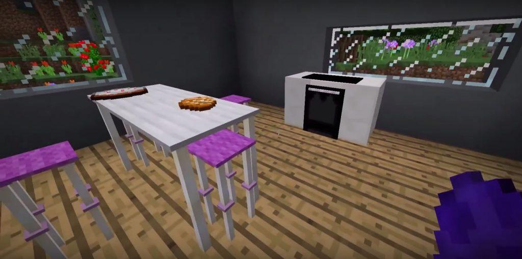 Modern Kitchen Command Block 3