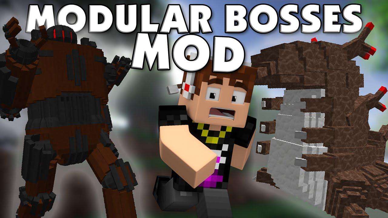 Modular Bosses Mod 110.110.10 (High Quality Epic Bosses) - 10Minecraft.Net