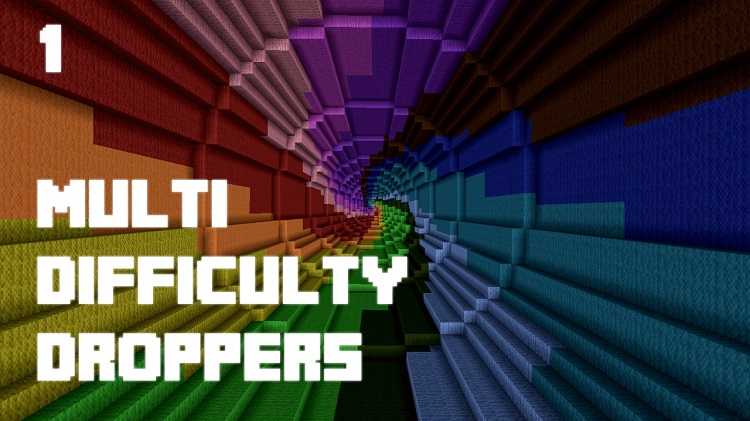Minecraft Maps Dropper Crafting - Minecraft maps for 1 11 2
