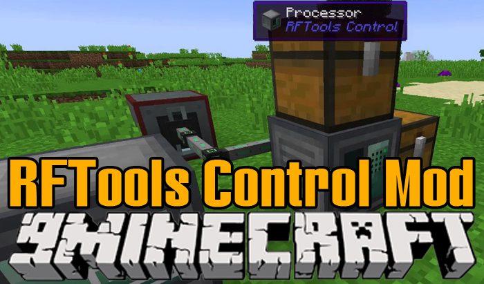 RFTools Control Mod 1 12 2/1 11 2 (Addon for RFTools) - 9Minecraft Net
