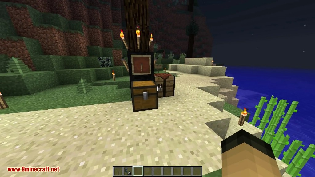 How To Craft A Torch Charcoal In Minecraft
