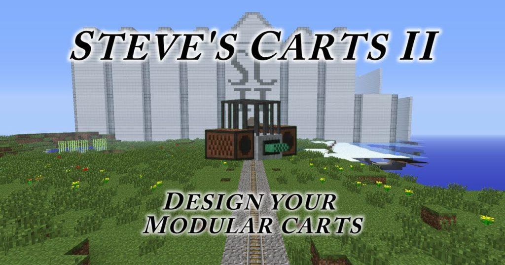 Steve's Carts Reborn Mod