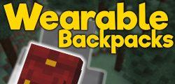 Wearable Backpacks Mod