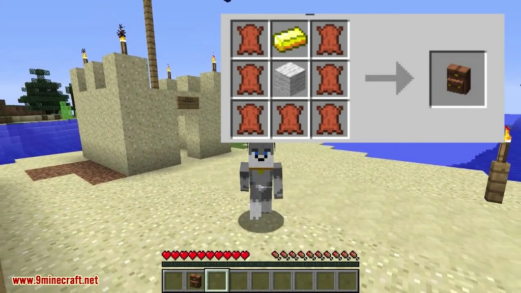 Wearable Backpacks Mod Crafting Recipes 1