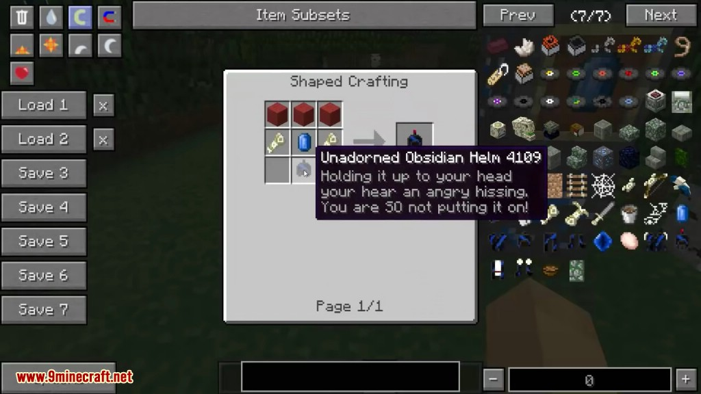 Welcome to the Jungle Mod Crafting Recipes 4