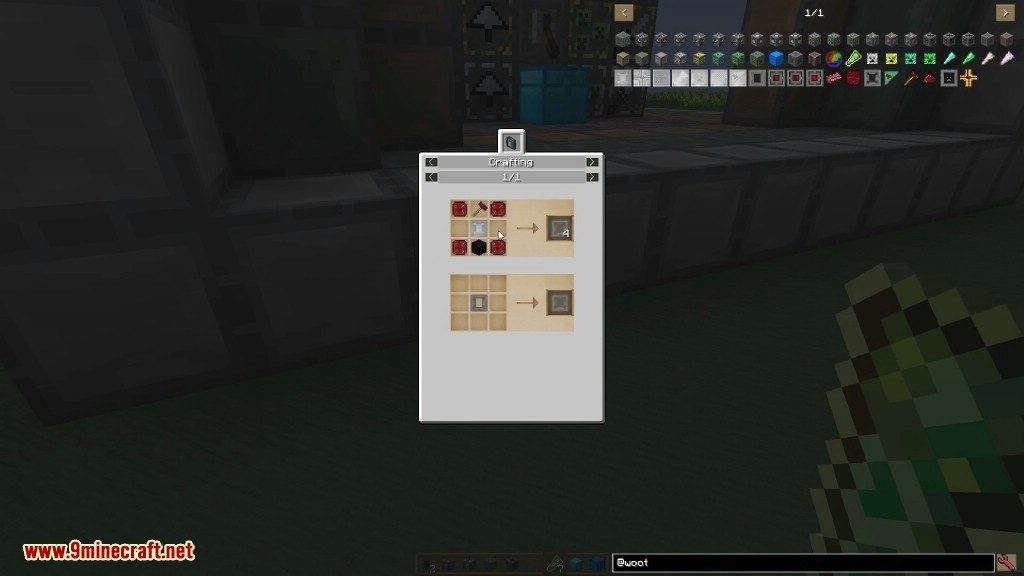 Woot Mod Crafting Recipes 11