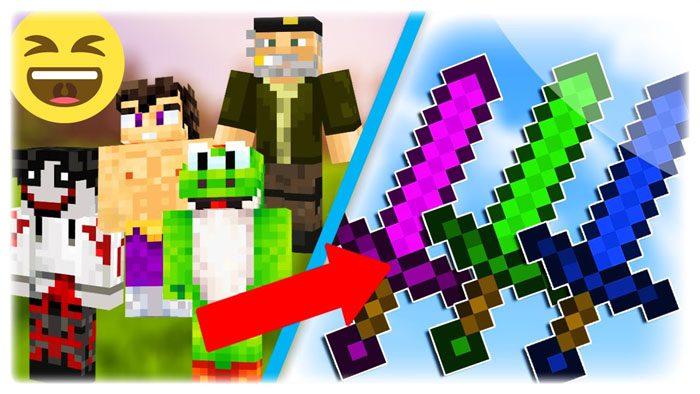 Youtuber Swords Mod