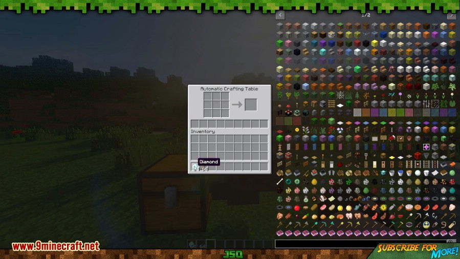 Automatic Crafting Table Mod 3