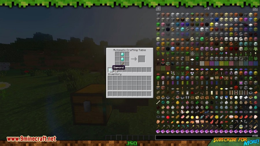 Automatic Crafting Table Mod 4
