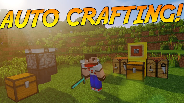 Automatic Crafting Table Mod
