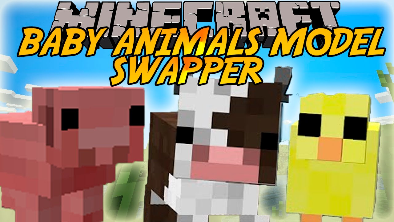 Baby Animals Model Swapper, Squickens Mod
