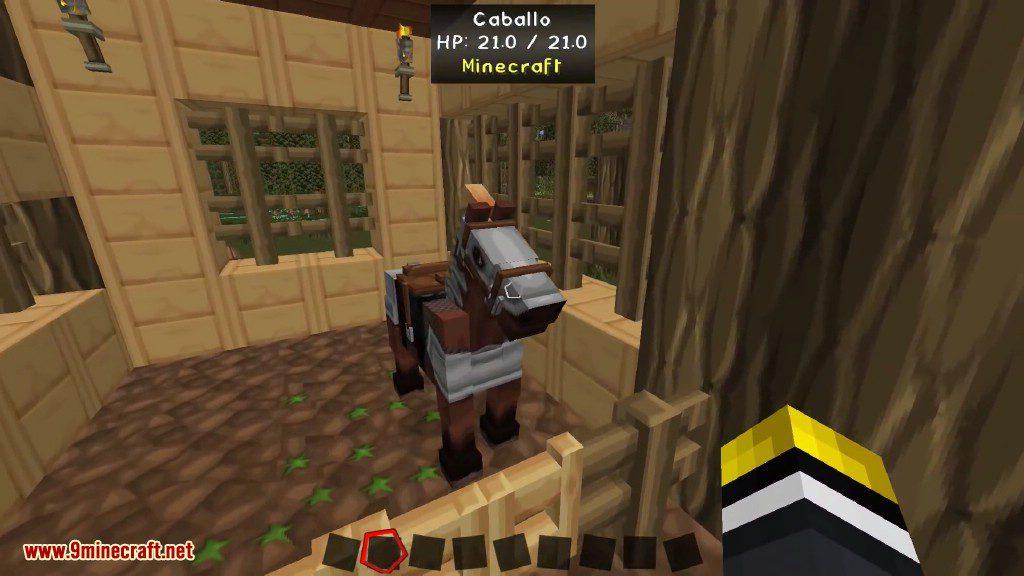 Craftable Horse Armour and Saddle Mod Screenshots 1
