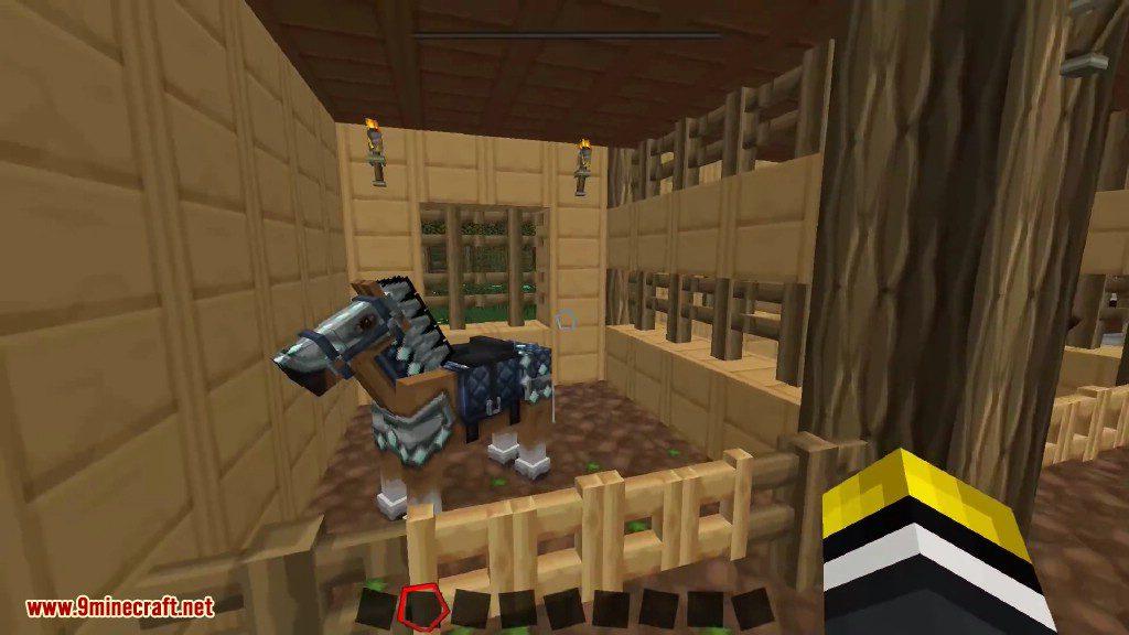 Craftable Horse Armour and Saddle Mod Screenshots 3