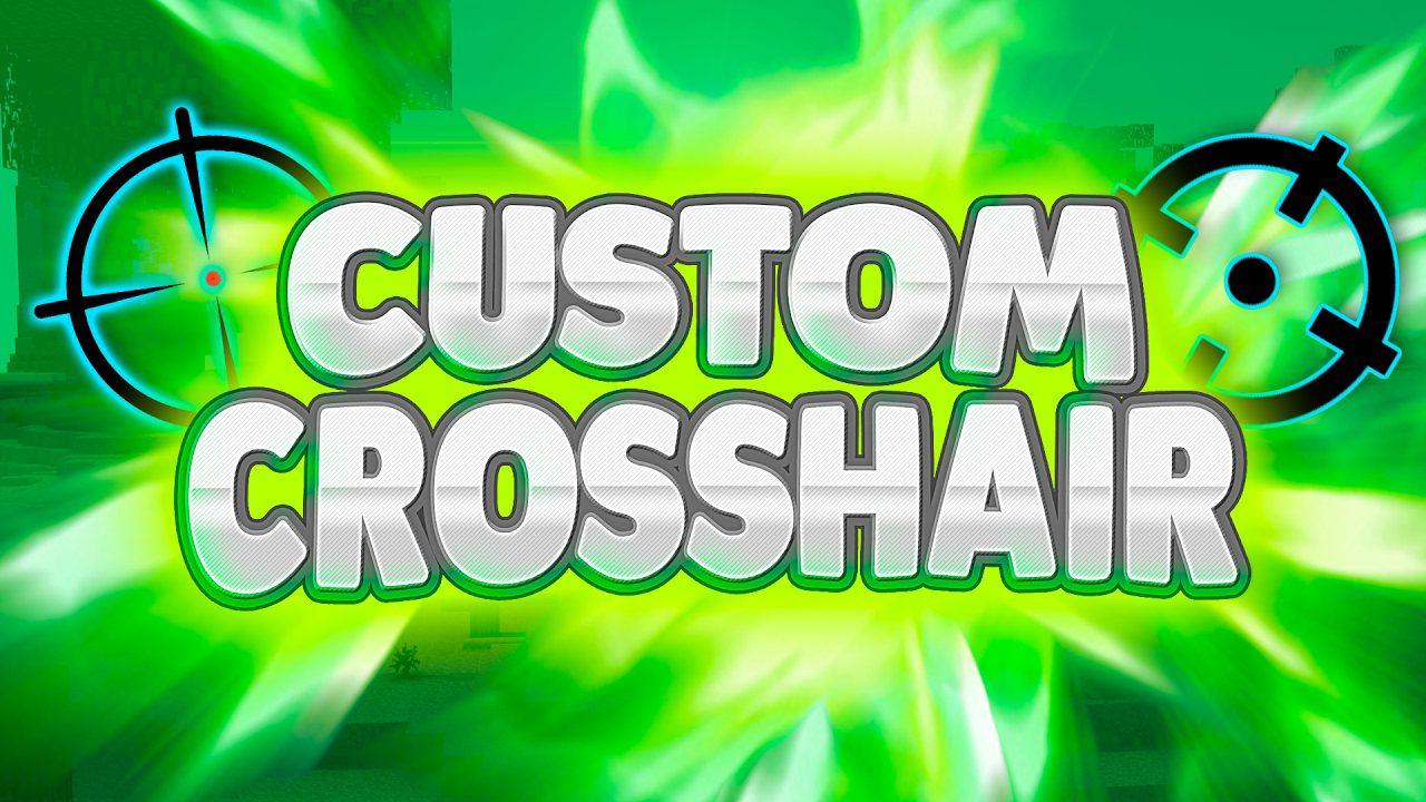 Custom Crosshair Mod 1.11.2/1.7.10