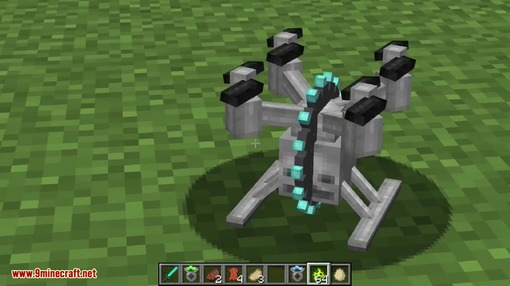 how to make a drone in minecraft