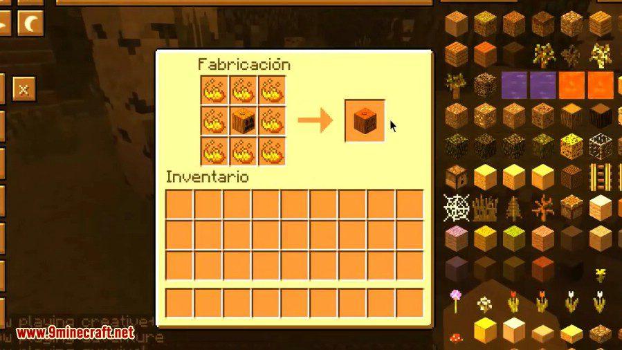 Fire Pumpkin Mod 4