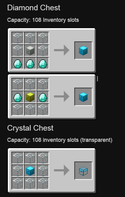 Iron Chests Mod 1.12.2/1.11.2 (Better Than Vanilla Chests