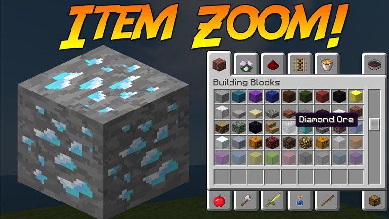 ItemZoom Mod 1.11.2/1.10.2