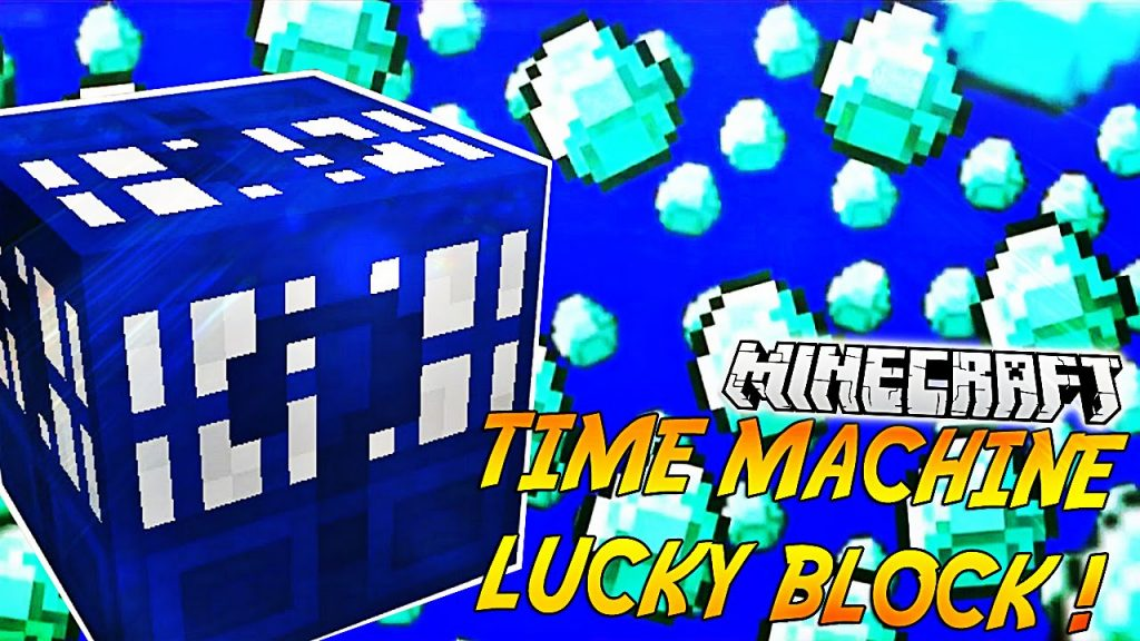 Lucky Block Time Machine Mod