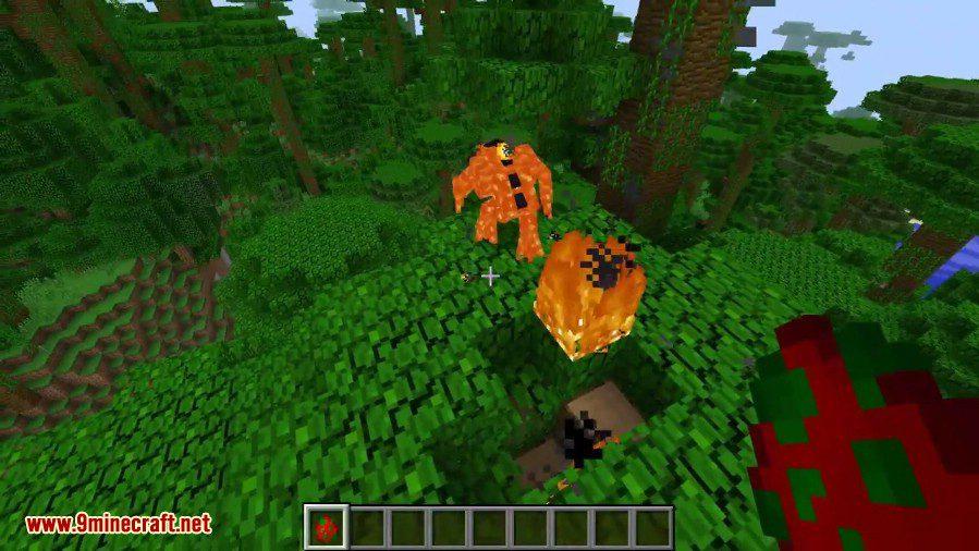Magma Monsters Mod 2